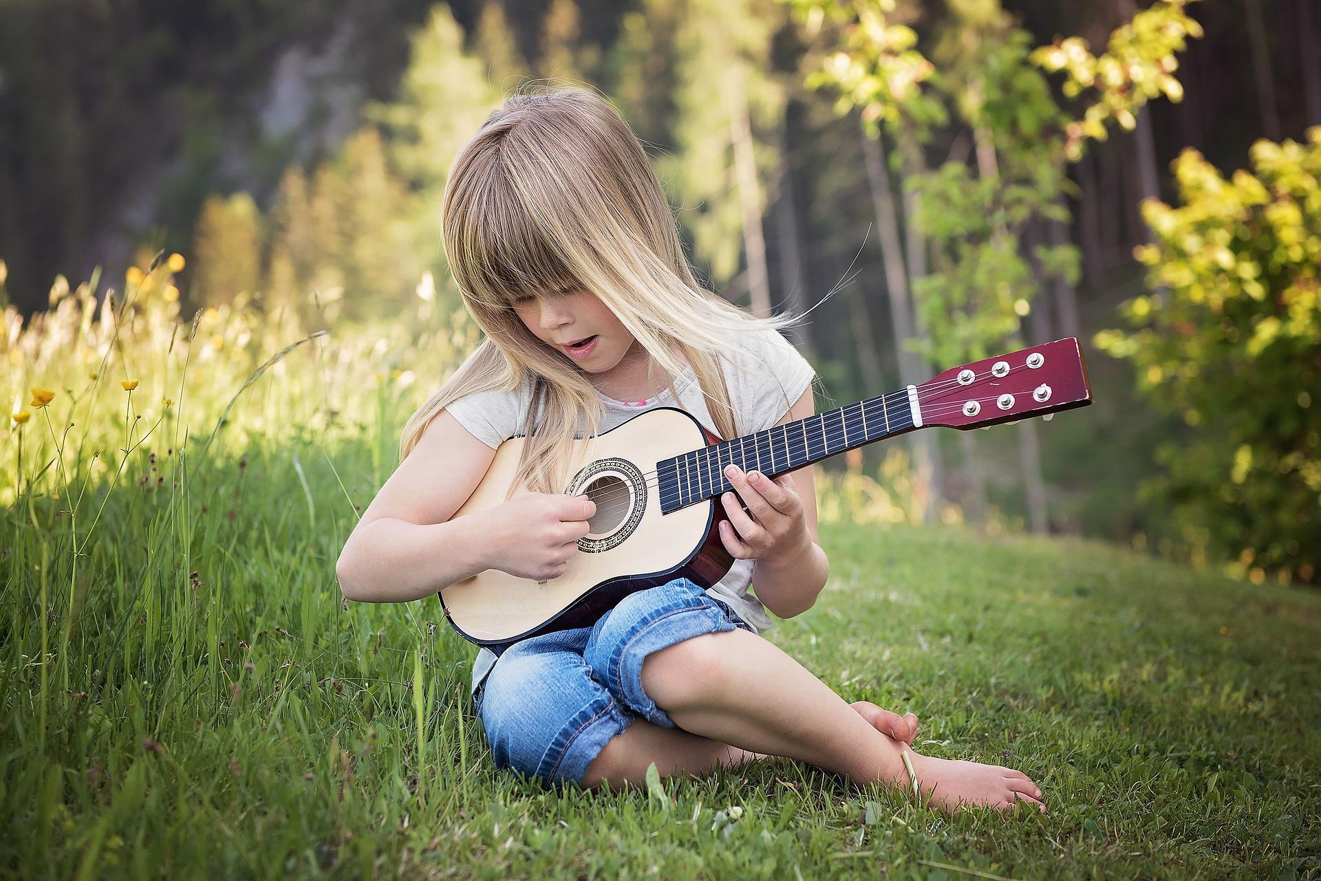 A importância da iniciação musical na vida de uma criança